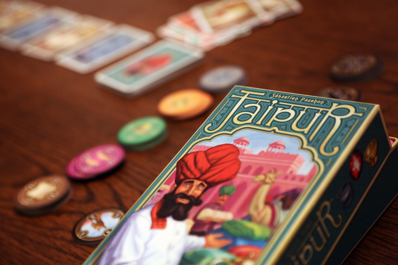 Jaipur is one of the best 2 player games out there... Wish