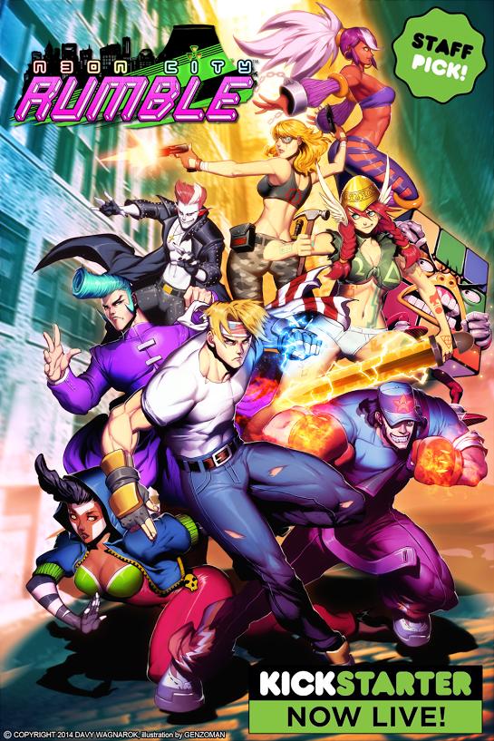 N30N City RUMBLE Game Cover Art