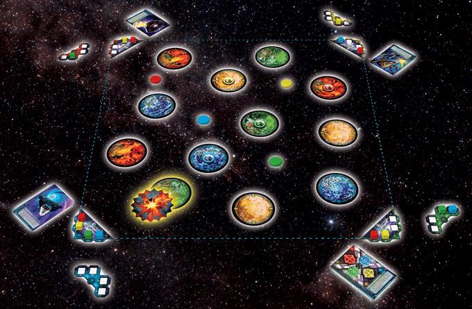 Cosmic Kaboom Play Area